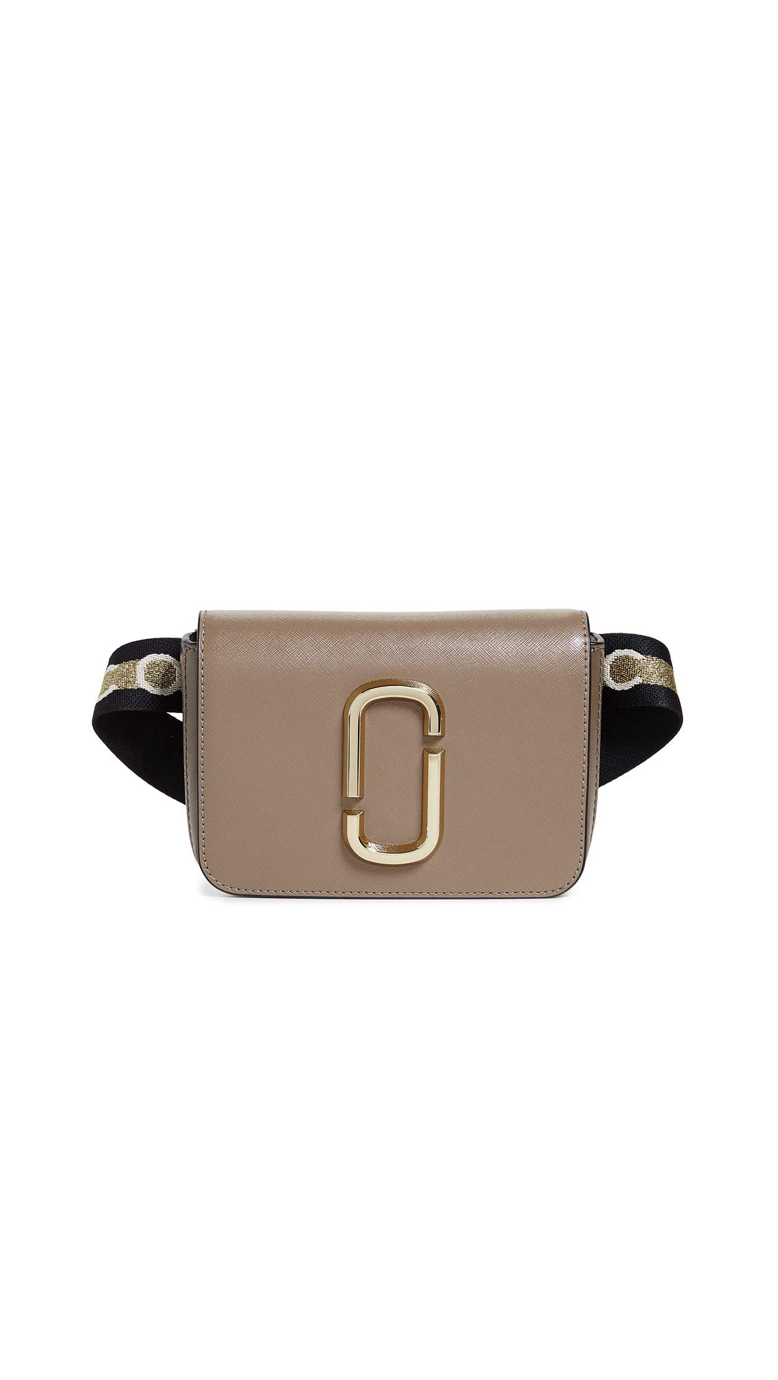 Marc Jacobs Women's M/L Hip Shot Marc Jacobs Convertible Belt Bag, French Grey Multi, One Size