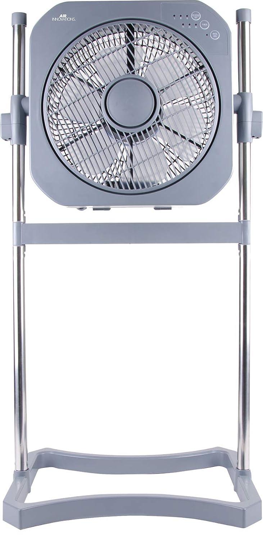 Air Innovations 12 Swirl Cool Fan w/ Cord Wrap (Platinum)