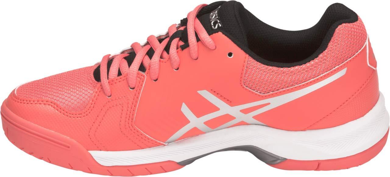ASICS Gel-Dedicate 5 Women's Tennis Shoe, Papaya/Silver, 5.5 M US by ASICS (Image #2)