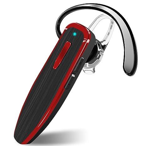 Auriculares Bluetooth con micrófono con cancelación de ruido, auriculares inalámbricos con manos libres, 24