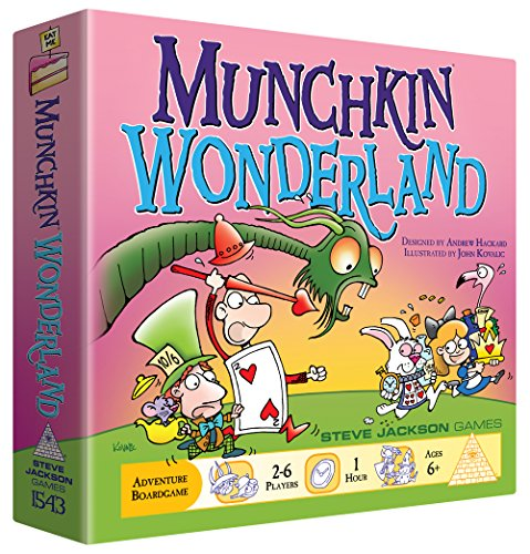 Steve Jackson Games Munchkin Wonderland Board Game