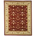 Safavieh Lyndhurst Collection LNH312B Light Blue and Ivory Square Area Rug, 9 feet Square (9' Square)