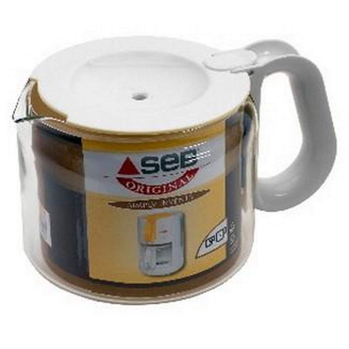 Acquisto Seb CL232101 Brocca 15 tazze con coperchio bianco per caffettiera Simply invents Prezzi offerta