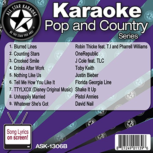 All Star Karaoke Pop and Country Series - Karaoke Annie Cd