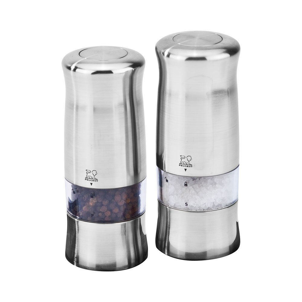 Peugeot Zeli Electric Salt & Pepper Mill Set by Peugeot