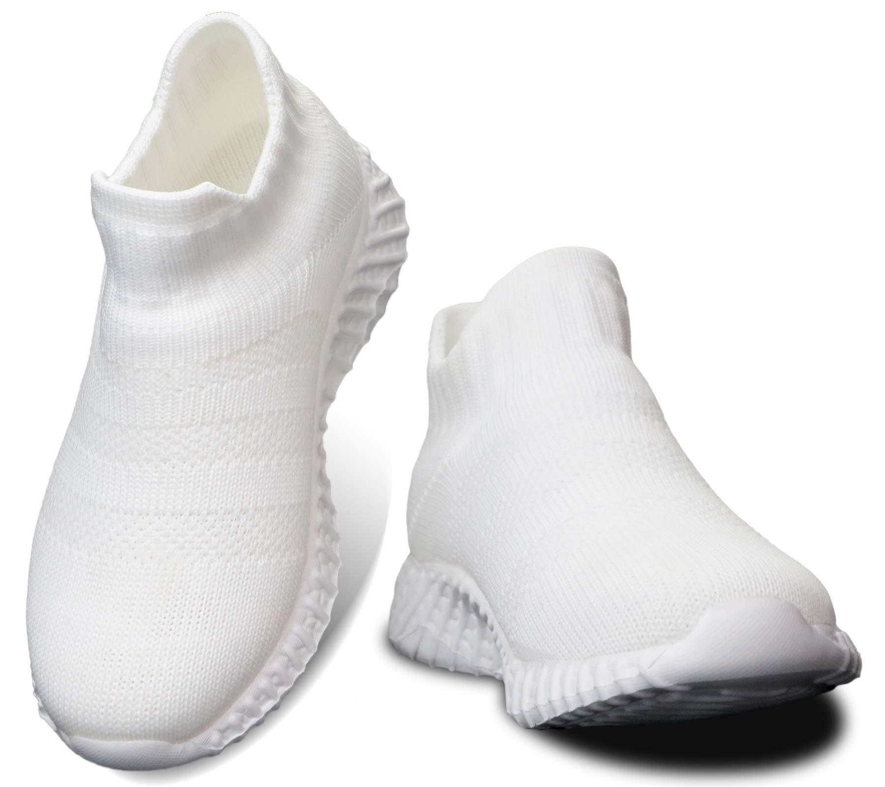 DaoLxi Kids Sneakers Boys Girls Running Walking Slip on Shoes Toddler Outdoor