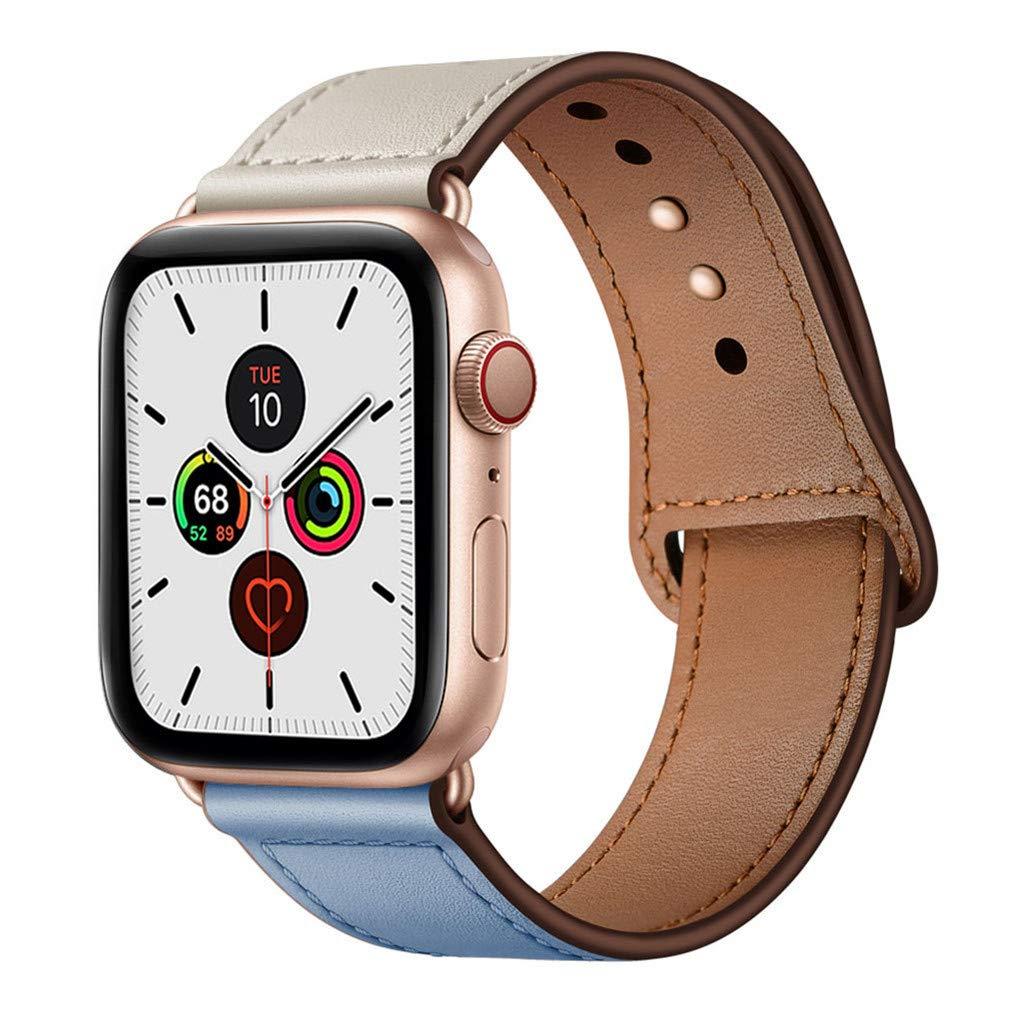 Malla Cuero para Apple Watch (38/40mm) YALOCEA [7W42YT86]