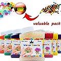 AINOLWAY High Elastic Water Beads Gel Pearls Jelly Crystal Soil for Kids Sensory toys or Vase Fillers