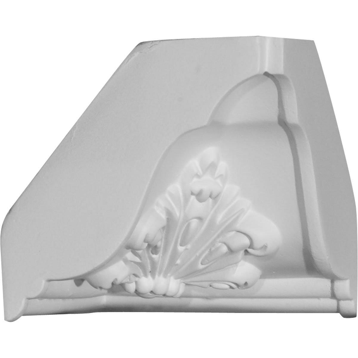 Ekena Millwork MIC04X04-CASE-4 4-5/8'' P x 4-3/4'' H Inside Corner for Molding Profiles (4-Pack)