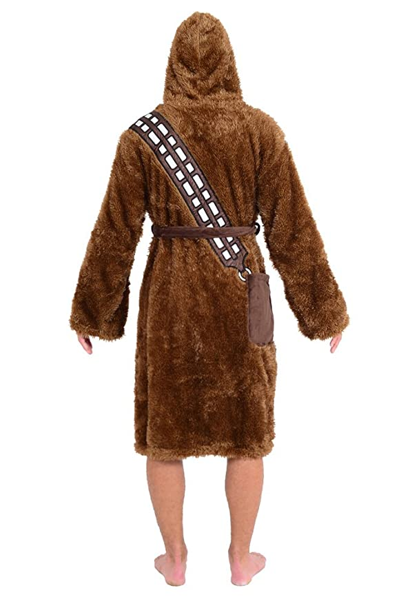 cea09e92ca Amazon.com  Robe Factory Star Wars Chewbacca Adult Bathrobe   Swim Suit  Cover Up Big and Tall