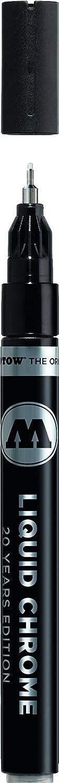 Molotow Liquid Chrome Alcohol Paint Pump Marker, 1mm, 1 Each
