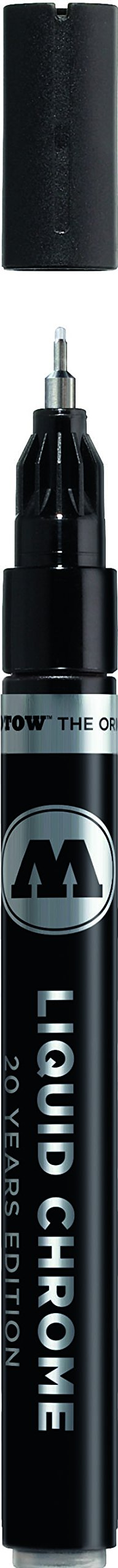 Molotow Liquid Chrome Pump Marker Pen - 1mm Nib 703.101