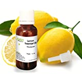 Allin Exporters Steam-Distilled Lemon Essential Oil - 100% Pure, Natural and Therapeutic Grade - Enriched in Vitamin C and Natural Antioxidants - Ideal for Aromatherapy & for DIY Products - Diffuser-Ready - Perfect Choice for Clean, Clear and Radiant Skin