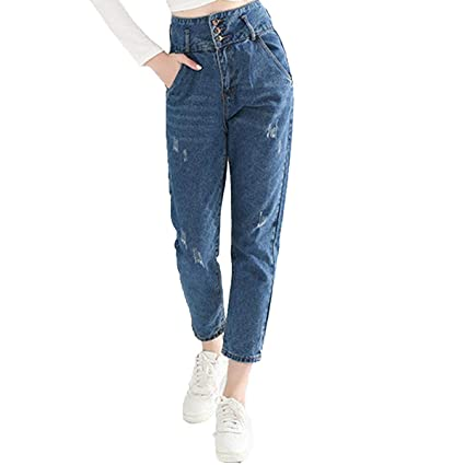 Mujer Vaqueros Slim, Skinny Pantalones Jeans2049 Stretch ...