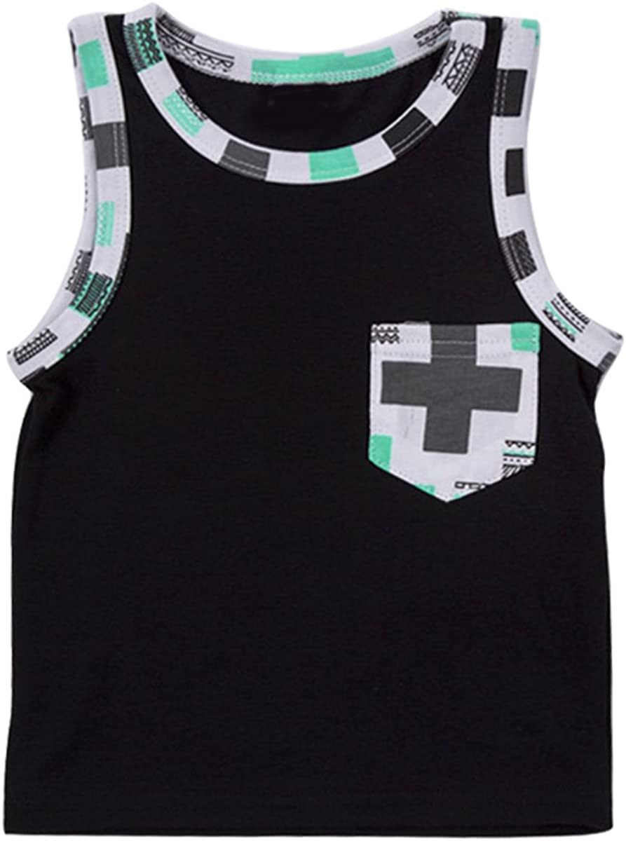 Shorts Summer Clothes Set 2pcs Kid Bodysuit Baby Toddler Child Boys Vest