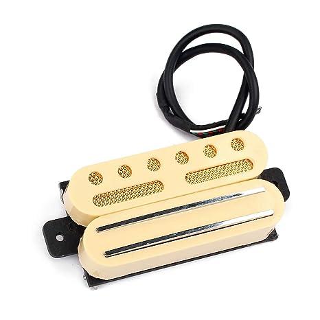 Yuuups - Pastilla de guitarra Humbucker tipo riel para ST TL 6 ...