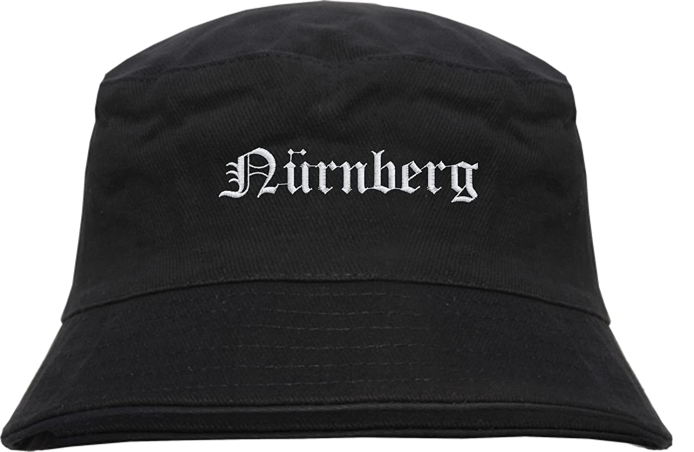 NÜ RNBERG Fischerhut - Bucket Hat - bestickt