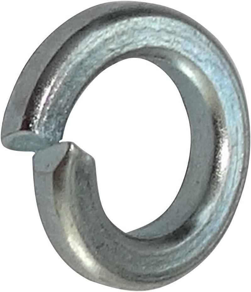 50x Arandelas Grower freno de resorte M5 Ф5.2x8.8mm H1.6mm DIN7980 acero galvanizado C17658 AERZETIX