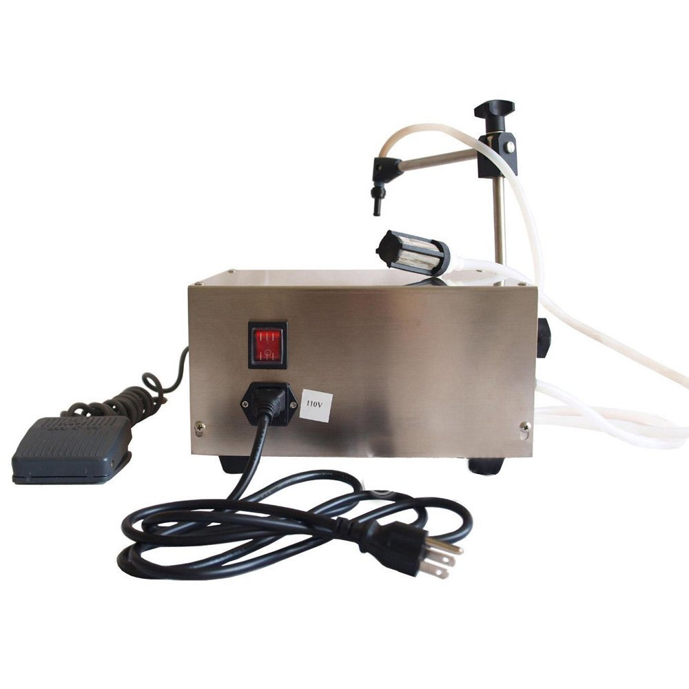 Wotefusi New Industrial Digital Control Pump Drink Water Liquid Filling Machine GFK-160 110V 30W 3.2L/min 5-30 Bottles/min Filling Range: 5-3500ml by Wotefusi (Image #5)
