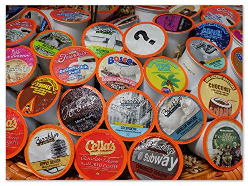 Two Rivers Flavored Coffee Single-Cup Sampler Pack for Keurig K-Cup Brewers, 40 Count by Two Rivers LLC (Image #3)