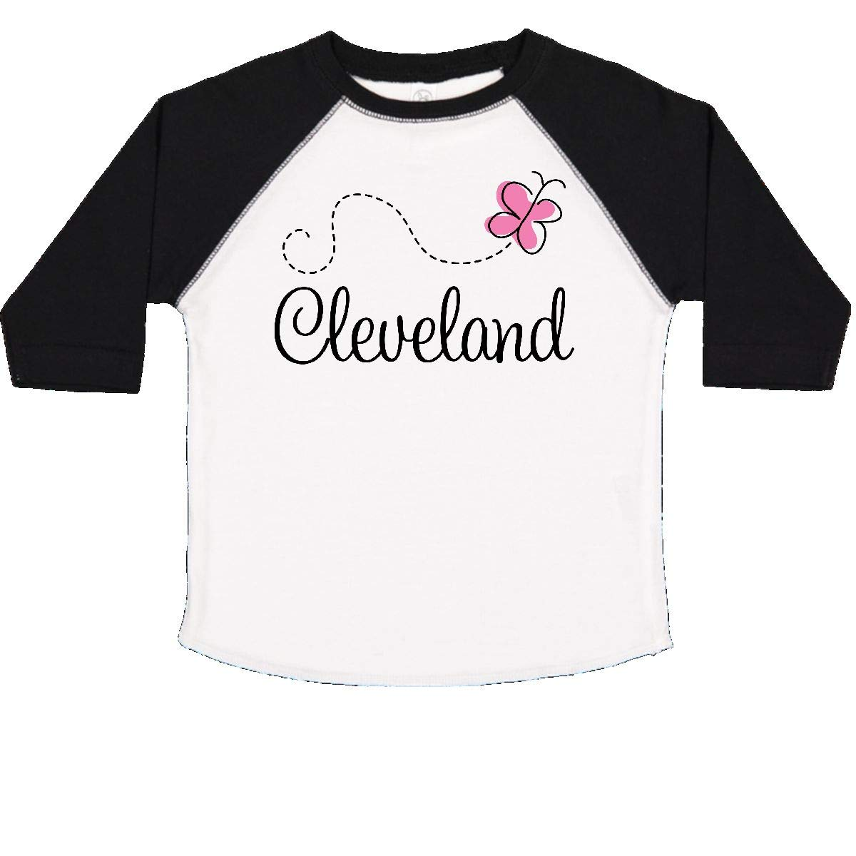 inktastic Cleveland Butterfly Toddler T-Shirt