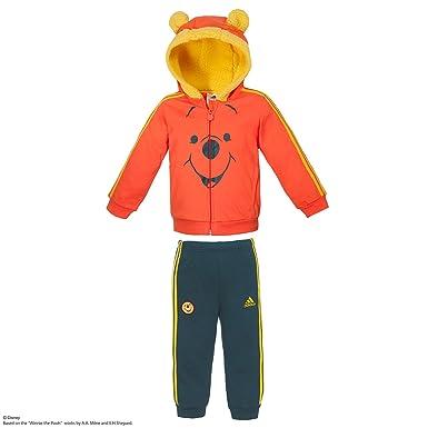 adidas INF DY WTPFZ S - Chándal para niños, Color Naranja/Azul ...
