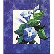 """Morning Glory - Foundation Paper Piecing Pattern - 20"""" x 23"""" Quilt"""