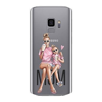 Amazon.com: Carcasa de silicona para Samsung Galaxy Note 4 ...