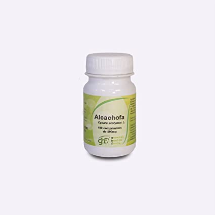 GHF - GHF Alcachofa 100 comprimidos 500 mg