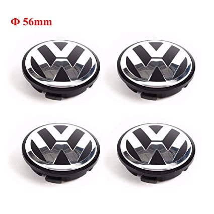 Image Unavailable. Image not available for. Color: CCBaseball Set of 4 - Volkswagen Wheel Center Caps ...