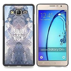- solid rock diamond sky universe sky - - Modelo de la piel protectora de la cubierta del caso FOR Samsung Galaxy On7 G6000 RetroCandy