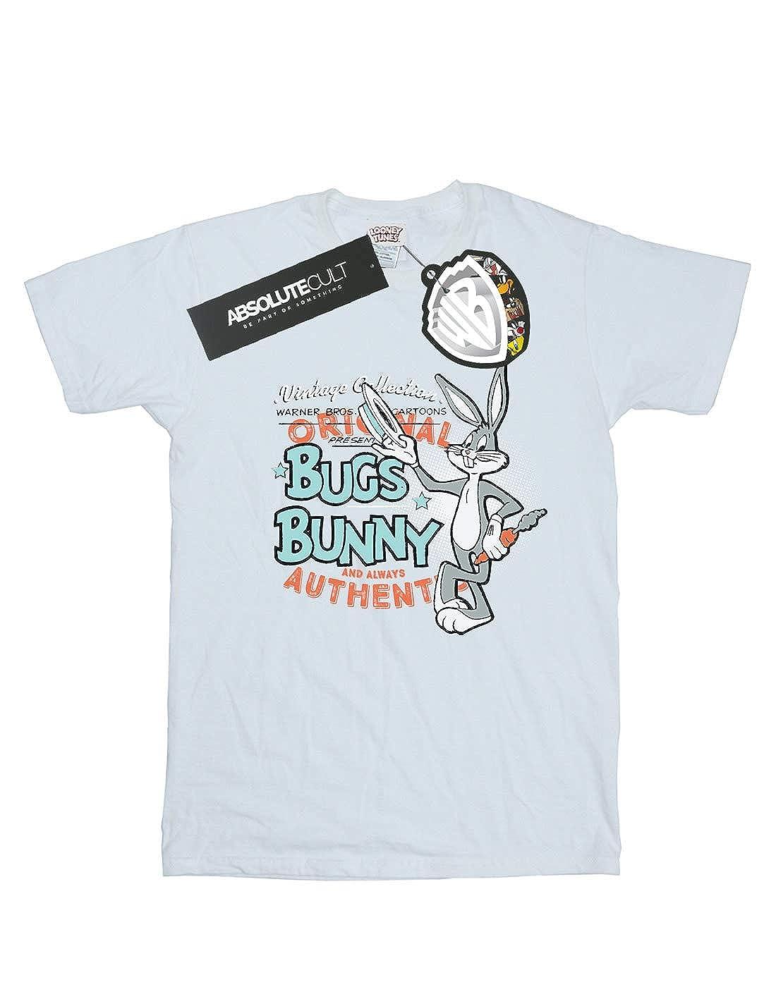 Amazon.com: Looney Tunes niños Vintage Bugs Bunny playera ...