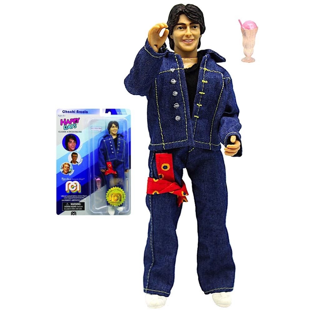 Chachi Happy Days Classic 8 MEGO Action Figure Re-Issue