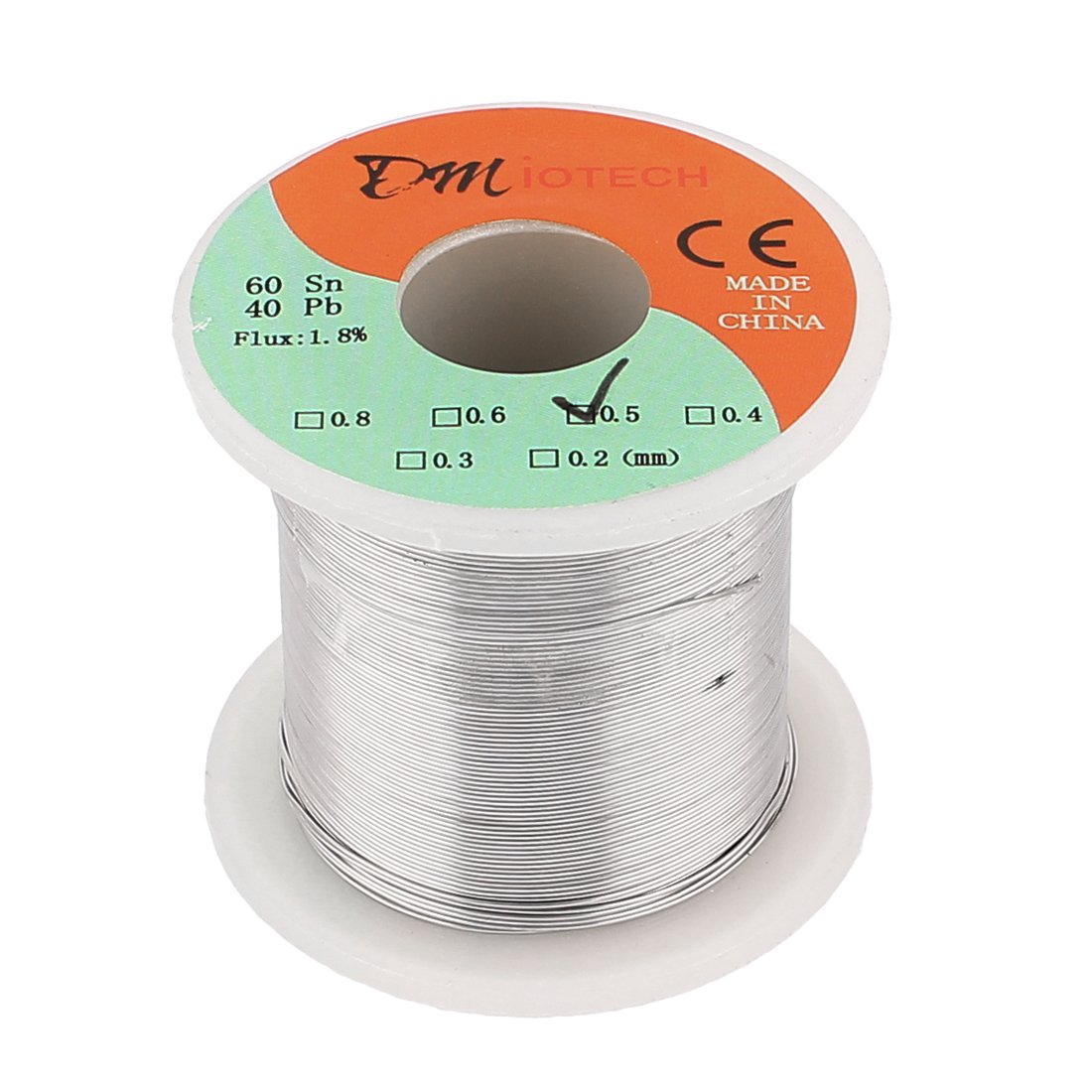 DMiotech 0.5mm 200G 60/40 Rosin Core Tin Lead Roll Soldering Solder Wire