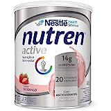 Suplemento Alimentar, Nutren Active, Morango, 400g