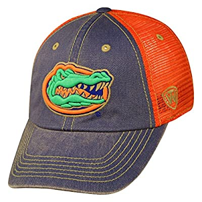 "Florida Gators NCAA Top of the World ""Past"" Adjustable Mesh Back Hat from Top of the World"