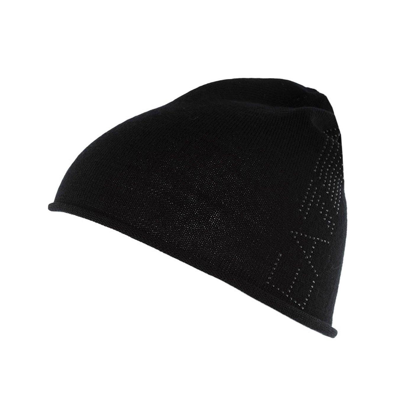 27a18d8243c WOMEN S EMPORIO ARMANI EA7 BEANIE HAT 285385 6A731 00020 BLACK   Amazon.co.uk  Clothing
