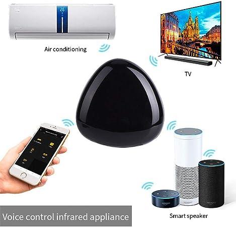 MOGOI WiFi Smart IR, Mando a distancia universal para Smart Home compatible con Alexa y Google