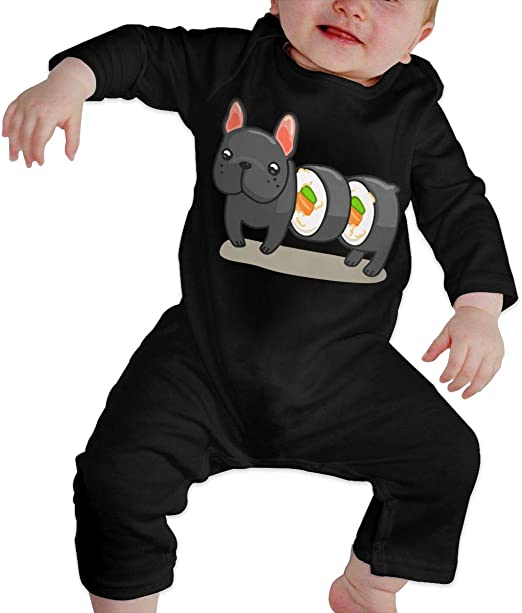 YELTY6F Make Canada Great Again Printed Baby Boys Girls Bodysuit Long Sleeve Outfits Black
