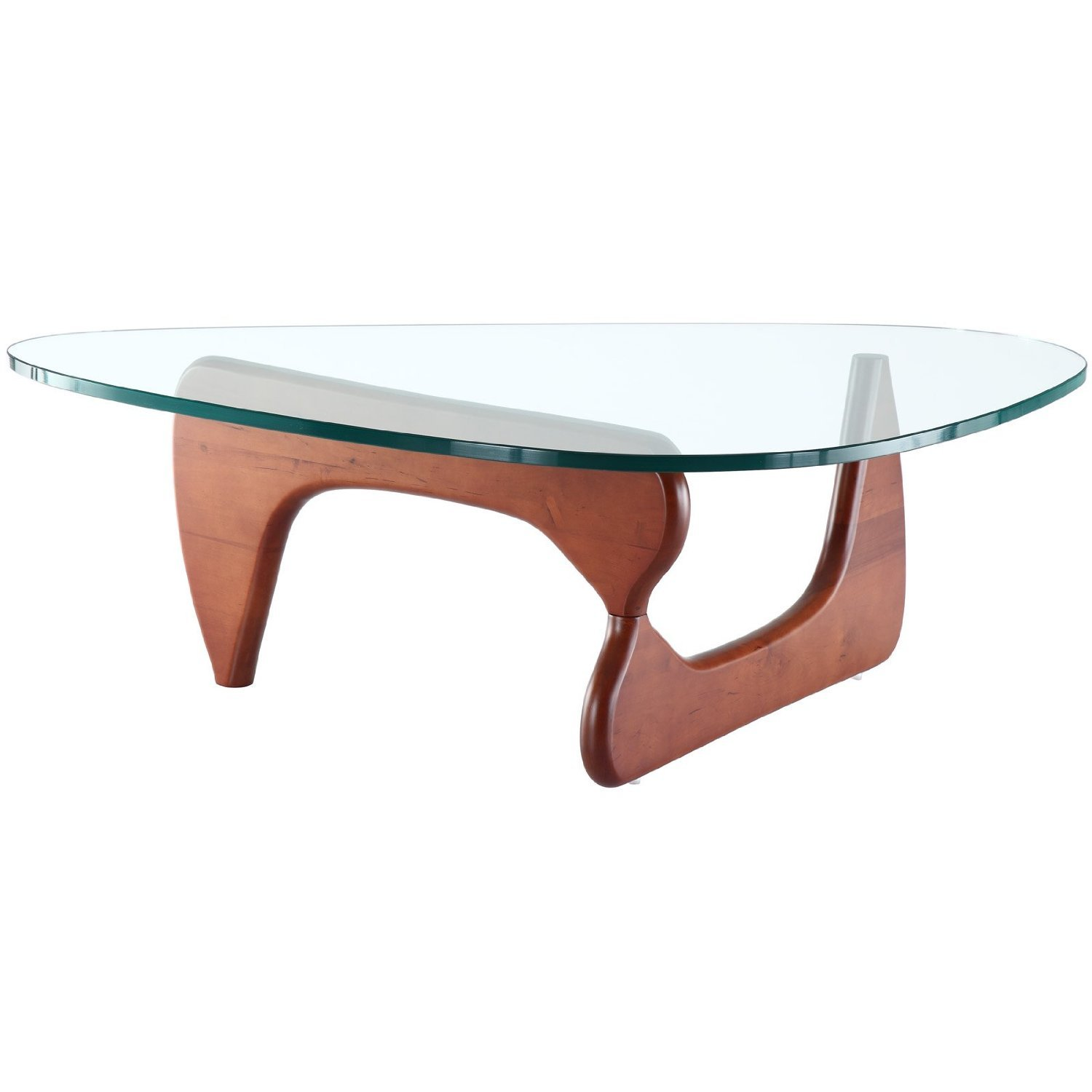 Isamu Noguchi coffee table Natural Finish Base Amazon Home