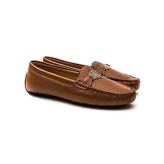 Lauren By Ralph Lauren Carley Mujer Zapatos Tostado: Amazon.es: Zapatos y complementos