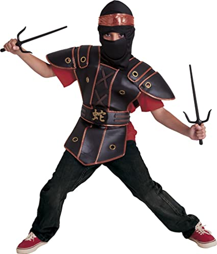 Amazon.com: Rubies Costume – Childrens Ninja Kid (s8421 ...