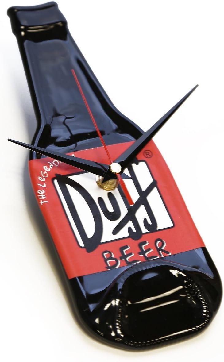 Botella de repuesto reloj de pared, modelo de cerveza Duff