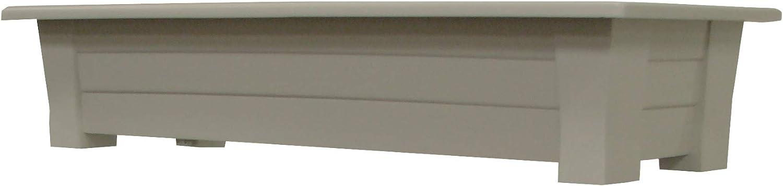"Adams Manufacturing 9302-13-3900, Gray 36"" Deck Planter"