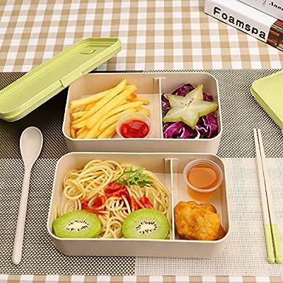 Fiambrera Verde,Bento Box Lunch Box Disponible Microondas Caja De ...