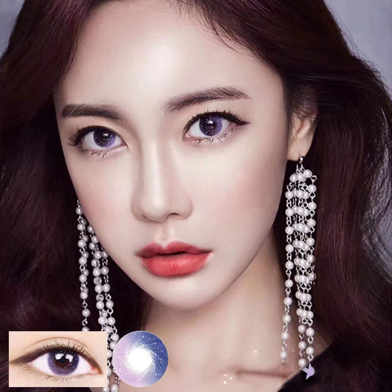 Lorenlli Beauty-Kontaktlinse der Golden Powder-Serie Galaxy der zweiten Generation