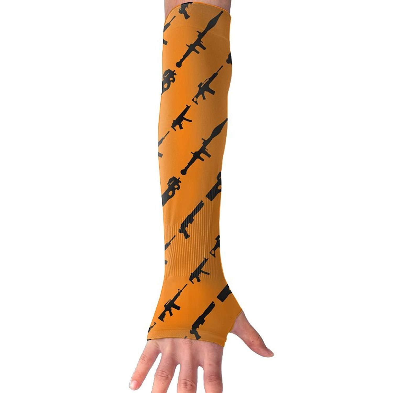 Unisex Gun Sense Ice Outdoor Travel Arm Warmer Long Sleeves Glove