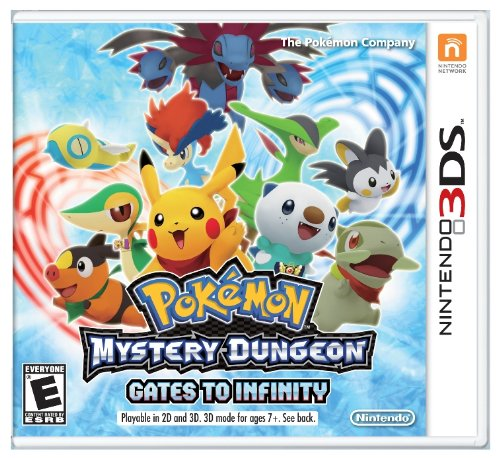 Pokémon Mystery Dungeon: Gates to Infinity - 3DS (Pokemon Mystery Dungeon Explorers Of Darkness Best Team)