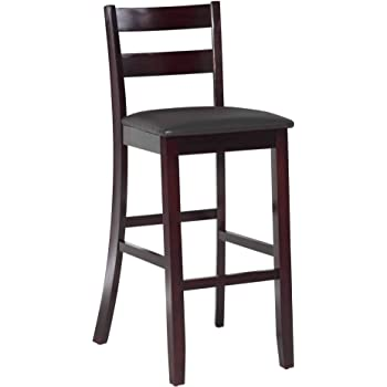 Amazon Com Linon Triena Collection Soho Bar Stool 30