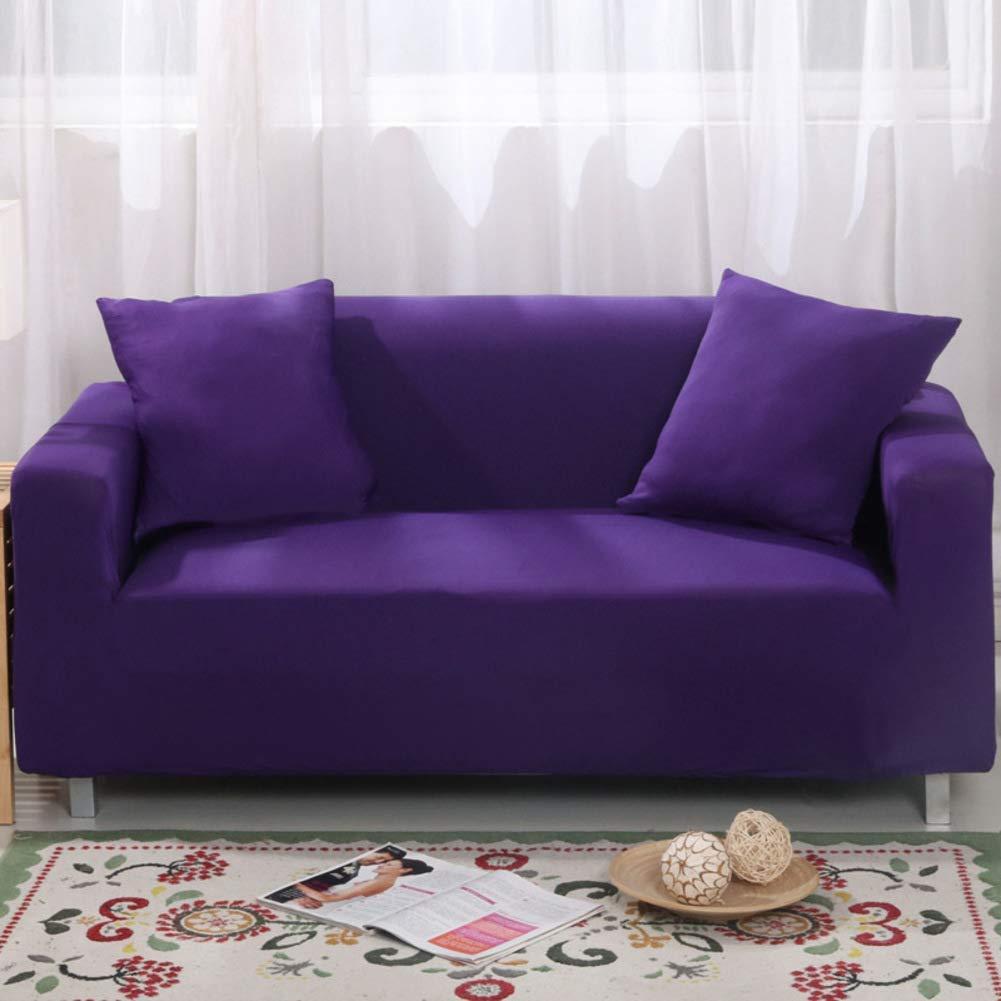 ペット犬のためのスリップ防止家具の保護装置、高い伸縮性のソファーのスリップカバーのソファーの投球パッドU字型のソファーのための簡単なソファカバー1 2 3 4座席 - I 3 Seater(75 * 90inch)   B07T95J3MY